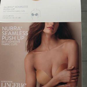 NuBra Nude Seamless Push-up  Sz D